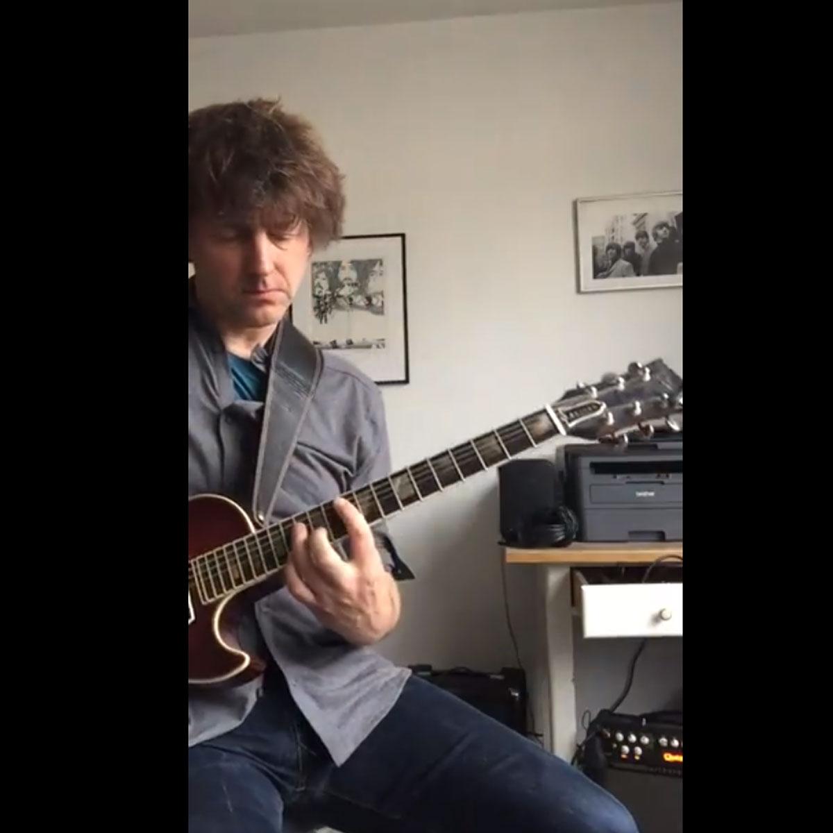 Neulich auf meiner Slaman Ginger 2 Gitarre.